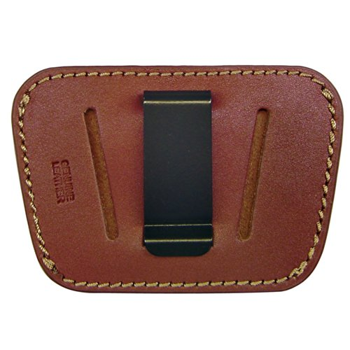 PS Products 036 Belt Slide Holster, fits Small to Medium Frame Auto Handguns - Brown