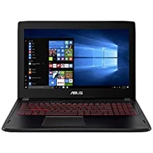"""CUK ASUS 15-inch Gaming Laptop (i7-7700HQ, 24GB RAM, 512GB NVMe SSD + 1TB HDD, NVIDIA GTX 1060 3GB, 15.6"""" Full HD IPS, Windows 10) - 2017 HTC Vive Compatible Notebook Computer for Gamers"""