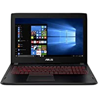 CUK ASUS 15-inch Gaming Laptop (i7-7700HQ, 24GB RAM, 512GB NVMe SSD + 1TB HDD, NVIDIA GTX 1060 3GB, 15.6 Full HD IPS, Windows 10) - 2017 HTC Vive Compatible Notebook Computer for Gamers