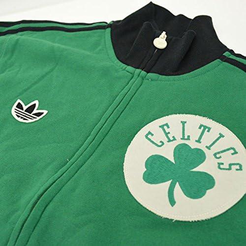 adidas Boston Celtics Originals NBA Classics Fleece Track Jacket ...