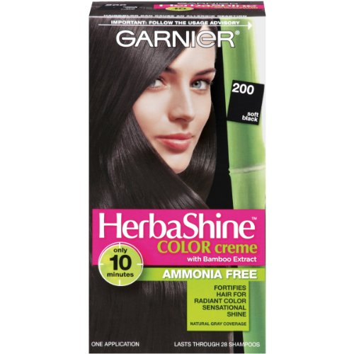 Garnier HerbaShine coloration, 200 Soft Black