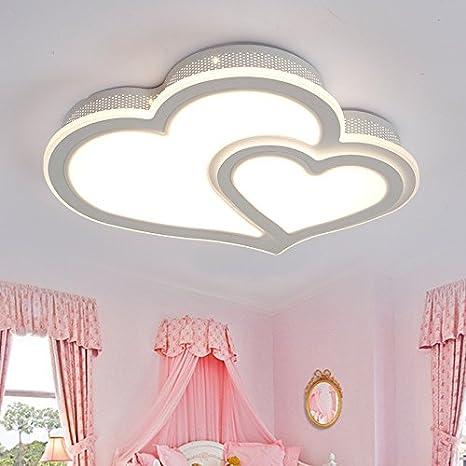 LED de luces de techo Acryl romántica habitación de ...
