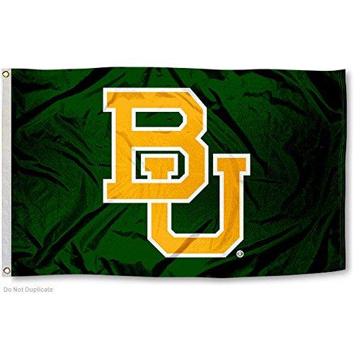 BU Baylor Bears University Large College Flag