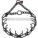 Herm Sprenger Black Stainless Steel Training Collar 3.2 mm Large