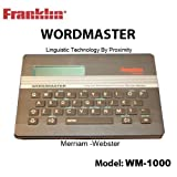 Franklin Electronic Publishers, Inc. Franklin Wordmaster Deluxe Model WM-1000