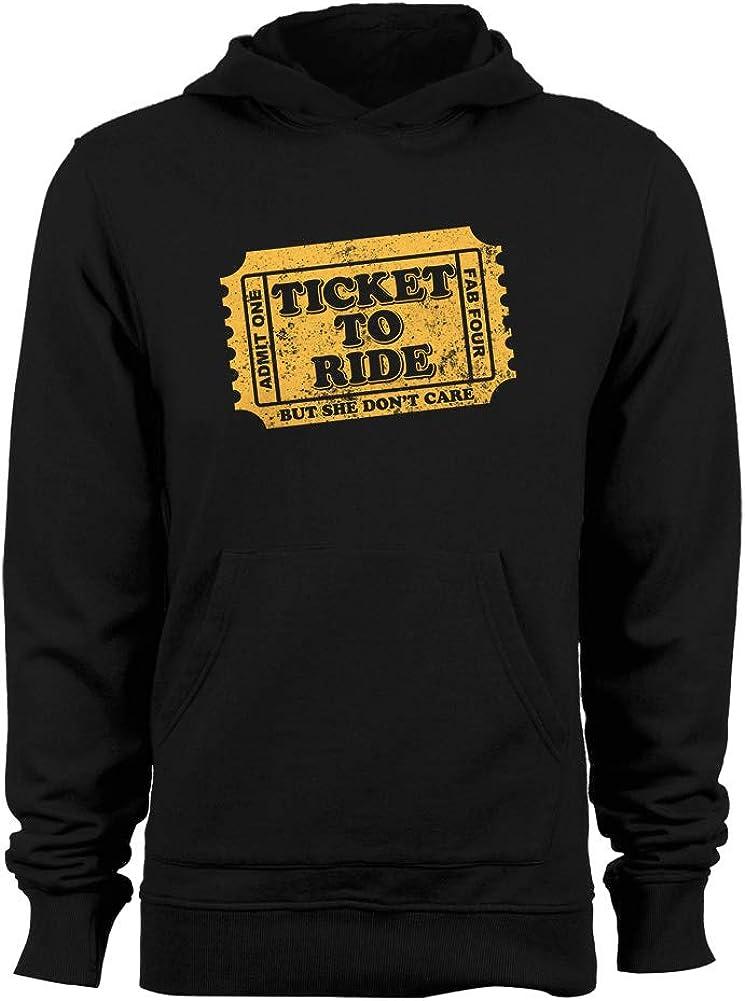 GEEK TEEZ Ticket to Ride Tribute Womens Hoodie