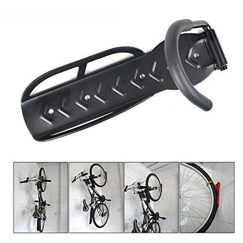 Boshen Hanging Bike Rack Heavy Duty Solid Steel Bicycle Cycling Wall Mount Hook Rack Holder Bike Hanger Stand Bike Storage System