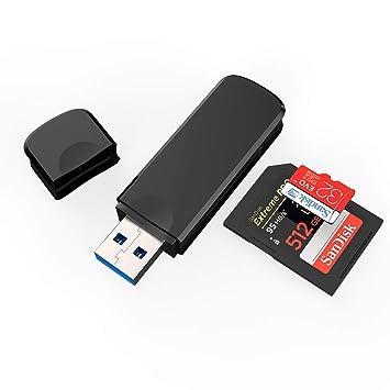 Amazon.com: Lector de tarjetas SD, CASOLU 8 en 1 USB 3.0 ...