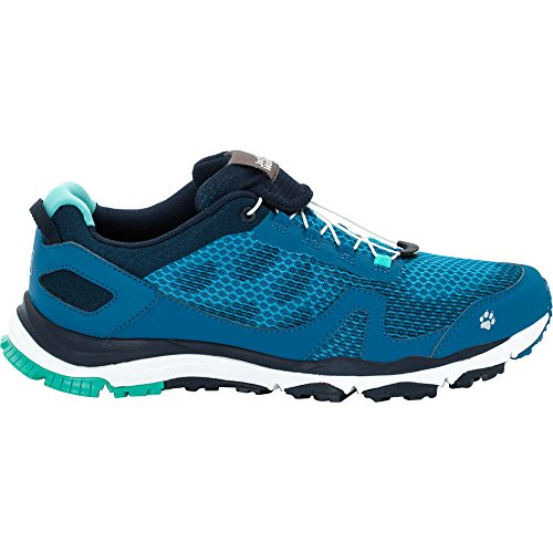 Jack Wolfskin Mens Storm Breeze Low Breathable Trail Running Shoes Glacier Blue