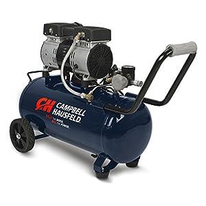 Campbell Hausfeld DC080500 Campbell Hausfeld DC080500 Portable Quiet Air Compressor, 8 Gallon