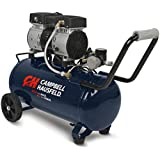 Quiet Air Compressor, 8 Gallon, Half the Noise, 4X the Life, All the Power (Campbell Hausfeld DC080500)