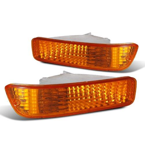 Spec-D Tuning LB-INT92AM-RS Acura Integra Rs Ls Gs Bumper Lights Amber