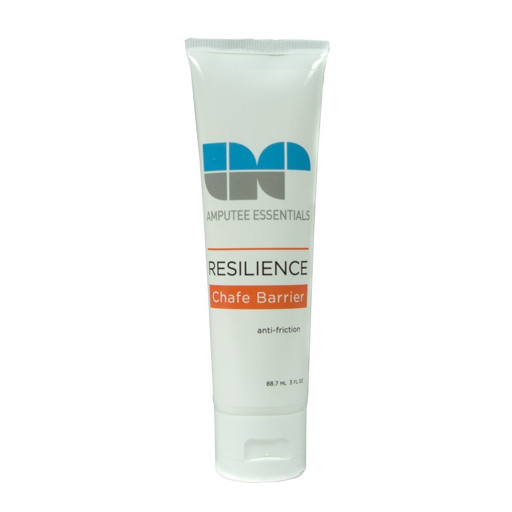 Amputee Essentials Resilience Chafe Barrier Cream, Anti-Friction, 3 fl oz (88.7 ml) Tube
