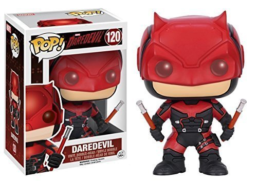 Funko POP Marvel 3 3/4 Inch Daredevil TV-Daredevil Red Suit Action Figure Dolls Toys
