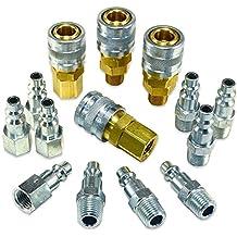 "Foster 3 Series - 14pc Coupler & Plug Kit, 1/4"" Body, 1/4"" NPT - Industrial Interchange, I/M, MIL Spec"