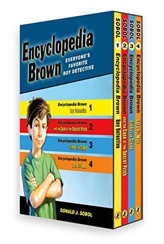 Encyclopedia Brown Box Set (4 -