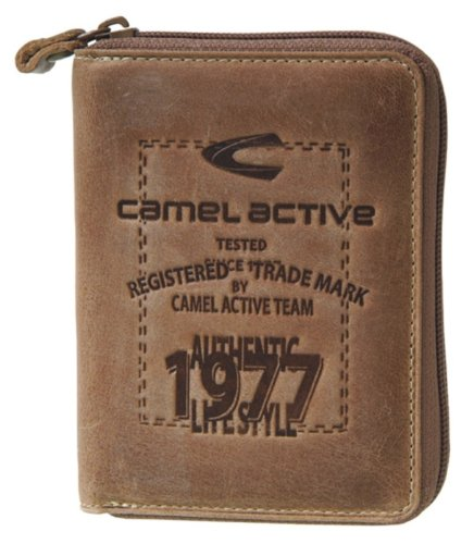 32c8563cb65 camel active Adventure Team II Wallet brown Size 10x2x12