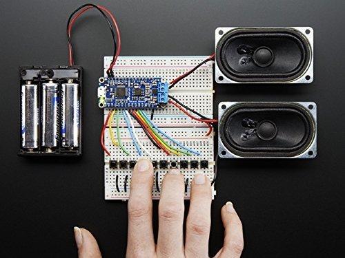 Adafruit Audio FX Sound Board + 2x2W Amp - WAV/OGG Trigger -