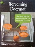 1 X Pressure Sensitive SCREAMING DOORMAT Halloween Decoration BATTERY OPERATED (Just Place It Under Your Doormat)