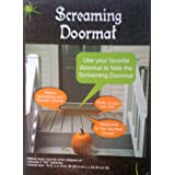 1 X Pressure Sensitive SCREAMING DOORMAT Halloween Decoration BATTERY OPERATED (Just Place It Under Your Doormat)