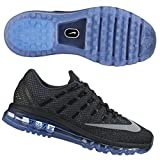 Nike Women's Air Max 2016, Anthracite/Chalk Blue/Cool Grey, 7