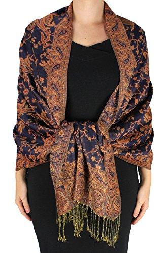 Peach Couture Elegant Reversible Pashmina product image