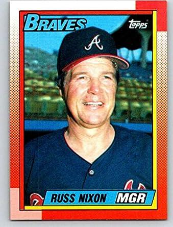 Amazon com: 1990 Topps #171 Russ Nixon MG Mint Baseball MLB