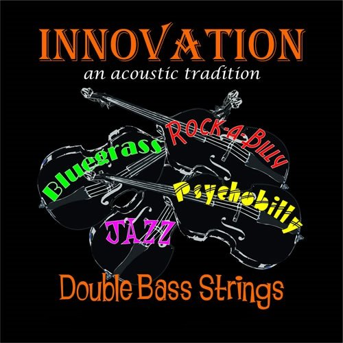 Innovation Polychrome - Hybrid Double Bass Strings Strings & Things