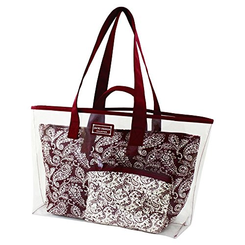 jacki-design-mystique-3-piece-tote-bag-set-red