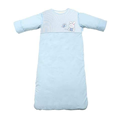 AZUO Manga Saco De Dormir Desmontable 100% Algodón Bebé Saco De Dormir Adecuado para Infante