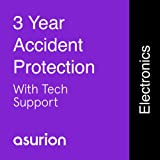 ASURION 3 Year Portable Electronic Accident Protection Plan with Tech Support $100-124.99