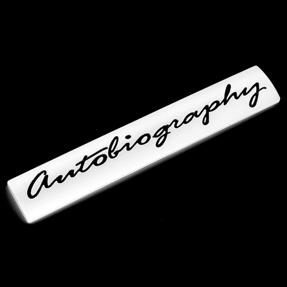 Autobaiography Supercharged Sport Car Sticker Metal Emblem Auto Badge Decal for Supercharged Range Rover Sport (red-Black)