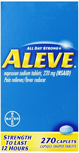 Aleve Caplets, 270 Count (Pack of 3) by Aleve