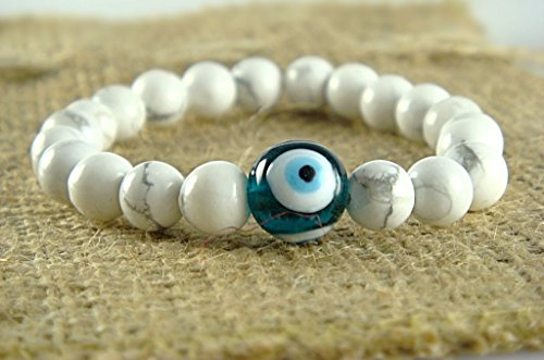 white-howlite-all-chakra-healing-beads-with-green-evil-eye-talisman-good-luck-stretch-bracelet-68