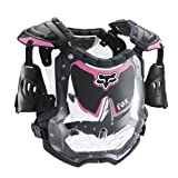 FOX R3 WOMENS ROOST DEFLECTOR BLACK/PINK MD/LG