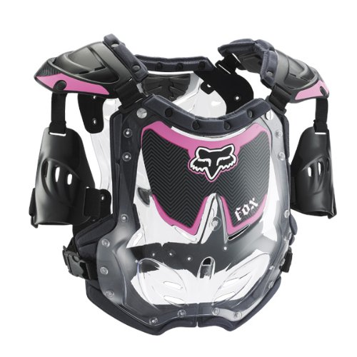 Atv Womens Profile (FOX R3 WOMENS ROOST DEFLECTOR BLACK/PINK 85-150+ LB/5'2