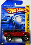 Hot Wheels 2007 First Edition New Models 1:64 Scale Red Dodge Ram 1500 Die Cast Truck #5 #005