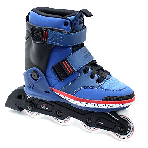 開業医バックグラウンドインポートK2(ケーツー) インライン 2016 MIDTOWN BLUE ブルー 男性用 メンズ インラインスケート INLINE SKATE