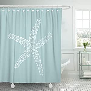51eSjhPYZRL._SS300_ Beach Shower Curtains & Nautical Shower Curtains