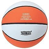 Tachikara Intermediate Size, 2-Tone Rubber Basketball (Orange/White)