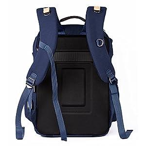 Camera Backpack DSLR/SLR Canvas Camera Bag Travel Outdoor Waterproof 14 inch Tablet Laptop Bag for Sony Canon Nikon