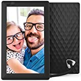 Nixplay Seed 7 Inch WiFi Cloud Digital Photo Frame with IPS Display, iPhone & Android App, iOS Video Playback, Free 10GB Online Storage, Alexa Integration and Hu-Motion Sensor - Black (W07A)