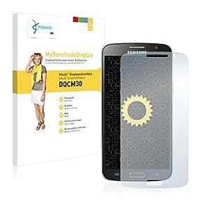 Vikuiti DQCM30 MySunshadeDisplay - Protector de pantalla para Samsung Galaxy Grand 2 G7102 (no deja residuos, instalacin sencilla, con efecto espejo mate)