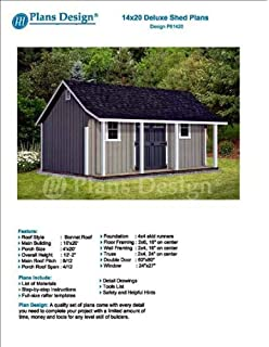 X Storage Shed With Porch Plans For Backyard Garden