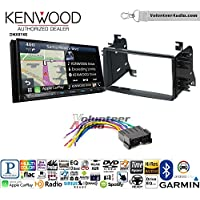 Volunteer Audio Kenwood DNX874S Double Din Radio Install Kit with GPS Navigation Apple CarPlay Android Auto Fits 2004-2006 Kia Spectra. 2005-2008 Kia Spectra5