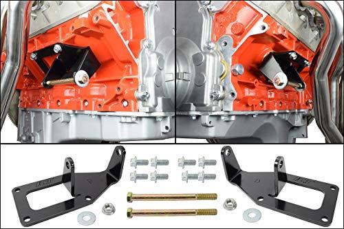 SBC to LS Swap Engine Mount Steel Clamshell Bracket Motor Conversion Plate LS1 551928