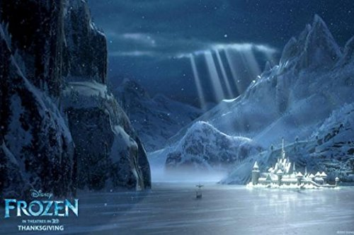 Frozen Movie Wall Poster Home Bedroom Decor Landscape Posters Pictures 30x20 inch Elsa