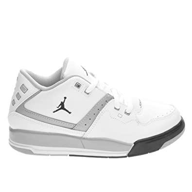 8cb8fe0c752 Amazon.com | Jordan Little Kids Air Flight 23 BP (White/Black/Wolf ...