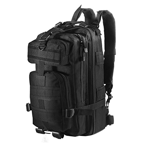Aeroway® Sport Outdoor Military Rucksacks Tactical Molle Backpack Camping Hiking Trekking Bag