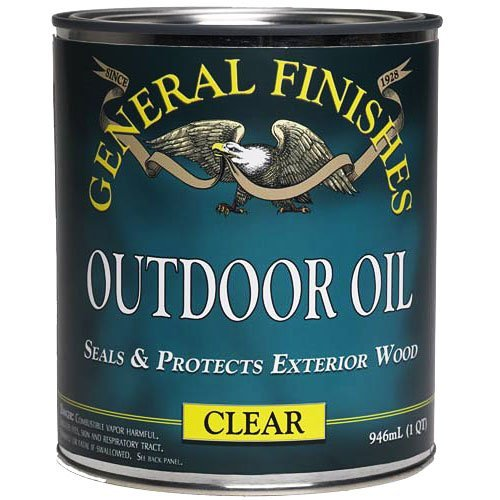Outdoor Oil Quart (Outdoor Varnish Wood Furniture)